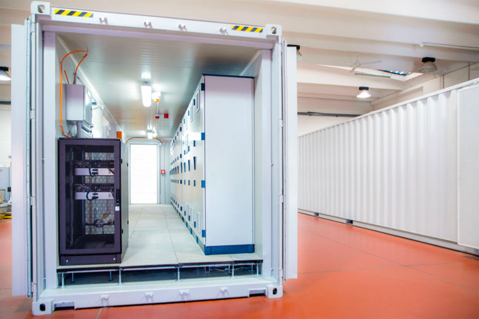 Case study: Special containerized solution for PLC and MCC housing